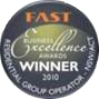 winner FAST award of excellence 2010